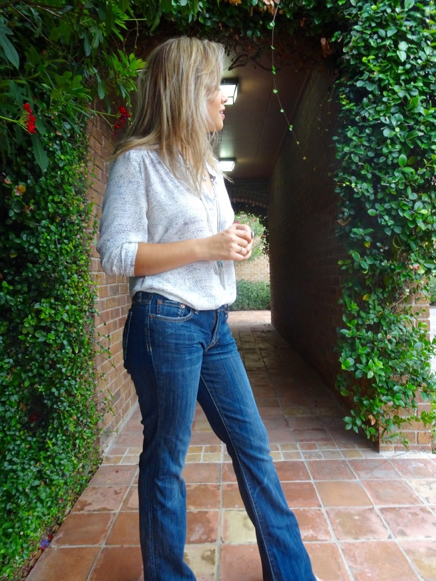 lucky brand flared jean